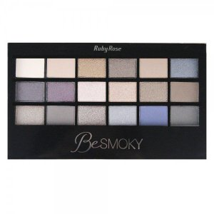 Paleta de Sombra Ruby Rose 18 cores Be Smoky HB9926
