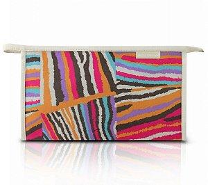 Necessaire Envelope (G) - Miss Douce Jacki Design ABC17198 Bege Listras