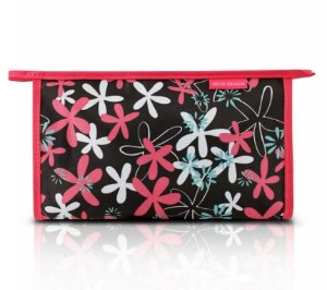 Necessaire Envelope (G) - Miss Douce Jacki Design ABC17198 Marrom Flores