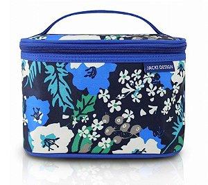 Necessaire Frasqueira(P) - Miss Douce Jacki Design  ABC17201 Azul Flores