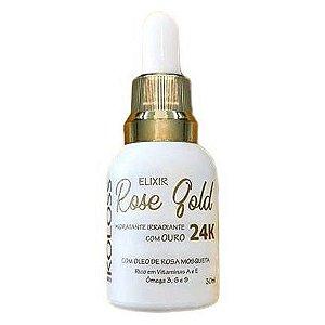Elixir Rose Gold Hidratante com Ouro 24K Koloss