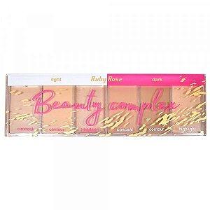 Paleta de Corretivo e Contorno Beauty Complex Ruby Rose HB7518