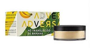 Pó Facial Translúcido Vegano Banana Adversa