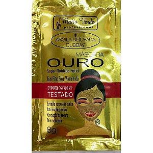 Máscara Facial Ouro Argila Dourada Matto Verde