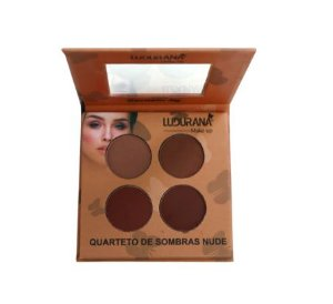 Quarteto de Sombras Nude Ludurana Cor 03 M00031