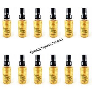 12 Unidades - Fixador Bruma Gold Miss Lary ML106
