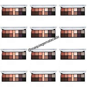 12 Unidades - Paleta de Sombra Boom Matte Ruby Rose HB9947