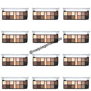 12 Unidades - Paleta de Sombra Fashionista Matte Ruby Rose HB9948