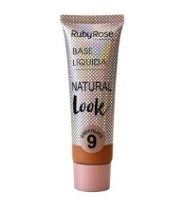 Base Líquida Natural Look Ruby Rose Chocolate 9 - HB8051