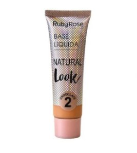 Base Líquida Natural Look Ruby Rose Chocolate 2 - HB8051