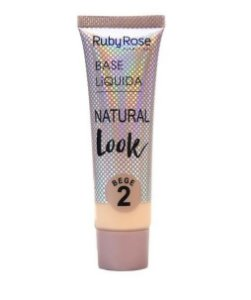 Base Líquida Natural Look Ruby Rose Bege 2 - HB8051