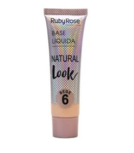 Base Líquida Natural Look Ruby Rose Bege 6 - HB8051