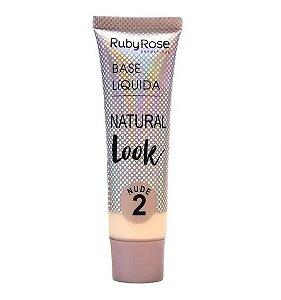 Base Líquida Natural Look Ruby Rose Nude 2 - HB8051