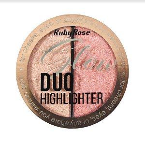 Iluminador Glow Duo Ruby Rose Cor 04 HB7522