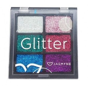 Paleta de Glitter Jasmyne Cor A JS00031