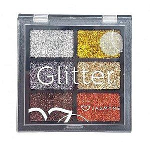 Paleta de Glitter Jasmyne Cor B JS00031