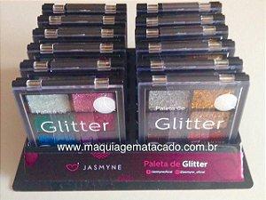 12 Unidades - Paleta de Glitter Jasmyne JS00031
