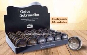 36 Unidades - Gel de Sobrancelhas Face Beautiful