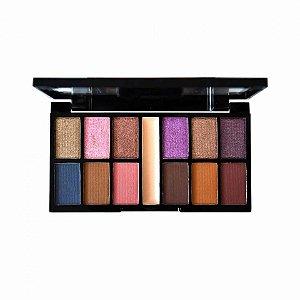 Paleta Kit de Sombras 12 Cores Culture Ruby Rose HB9985-9