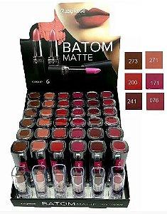 36 Unidades Batom Matte Ruby Rose Grupo 06 HB8518