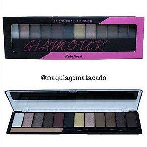 Paleta de Sombra Glamour Ruby Rose HB9907
