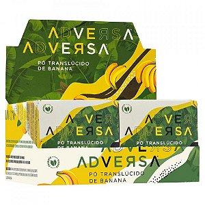 06 Unidades - Pó Facial Translúcido Vegano Banana Adversa AD107