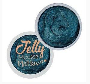Sombra Jelly Mousse Mahav Azul Petróleo
