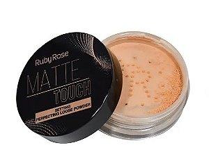 Pó Solto Matte Touch Neutro Médio Ruby Rose HB7222-2