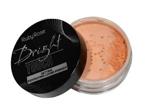 Pó Solto Bright Touch Neutro Bronzeado Ruby Rose HB7221-3