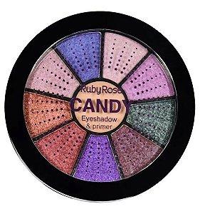 Paleta de Sombras Candy Ruby Rose HB9986-2