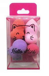 Kit de 4 Mini Esponjas Hello Mini RL006-3