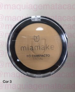 Pó Facial Compacto Mia Make Cor 03