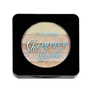 Iluminador Shimmer Brick 5 em 1 Ruby Rose Gold HB7226-1