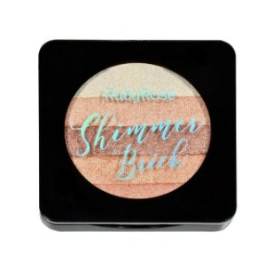 Iluminador Shimmer Brick 5 em 1 Ruby Rose Peachy HB7226-3