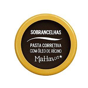 Pasta Corretiva Para Sobrancelha Com Óleo de Rícino Mahav Cor 03