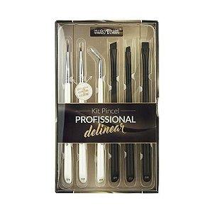 Kit Pincel Profissional Macrilan Delinear WB700