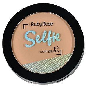Pó Compacto Selfie Ruby Rose Cor 03 Bege Médio