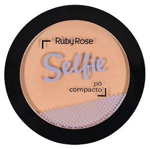 Pó Compacto Selfie Ruby Rose Cor 05 Bege Escuro