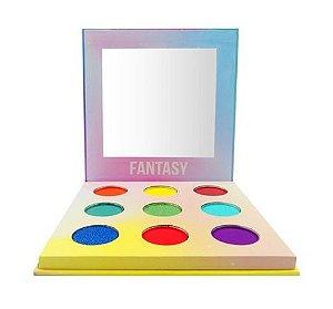 Paleta de Sombras Multicolorida Fantasy Bella Femme BF10067