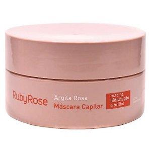 Máscara Capilar Argila Rosa Ruby Rose HB802