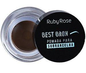 Pomada Para Sobrancelha Best Brow Ruby Rose Medium HB8400
