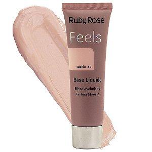 Base Líquida Feels Ruby Rose Cookie 60