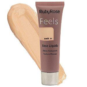 Base Líquida Feels Ruby Rose Avelã 70