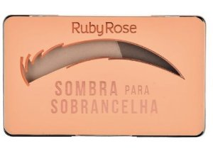 Sombra Para Sobrancelha Ruby Rose Cor 1 Medium Brow HB9355