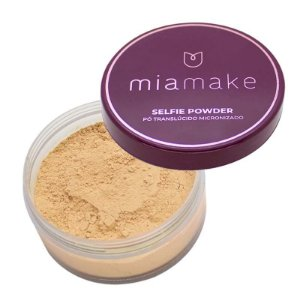 Pó Translúcido Micronizado Selfie Powder Mia Make Cor 03