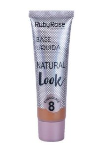 Base Líquida Natural Look Ruby Rose Chocolate 8 - HB8051