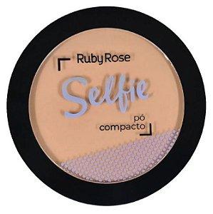 Pó Compacto Selfie Ruby Rose Cor 44 Bege