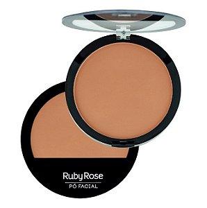 Pó Facial Compacto Ruby Rose Cor 21 HB7206