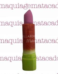 Batom Tasty Matte Fruit Bella Femme Melancia