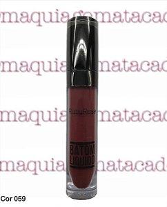 Batom Líquido Matte Ruby Rose Cor 059